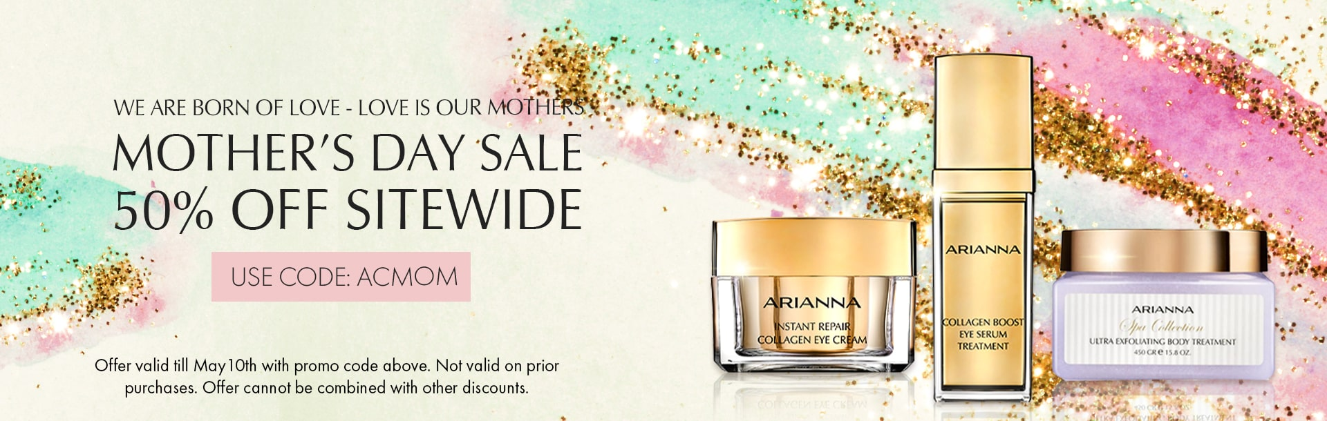 Mothers Day Sale - 50% OFF Sitewide