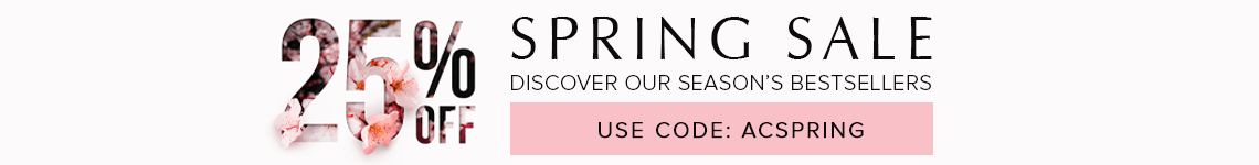 Spring Sale - 25% OFF with code ACSPRING