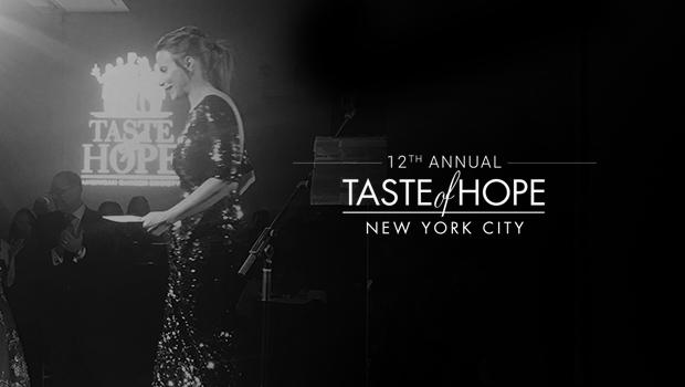 The 12th Annual Taste of Hope Survivor Honoree