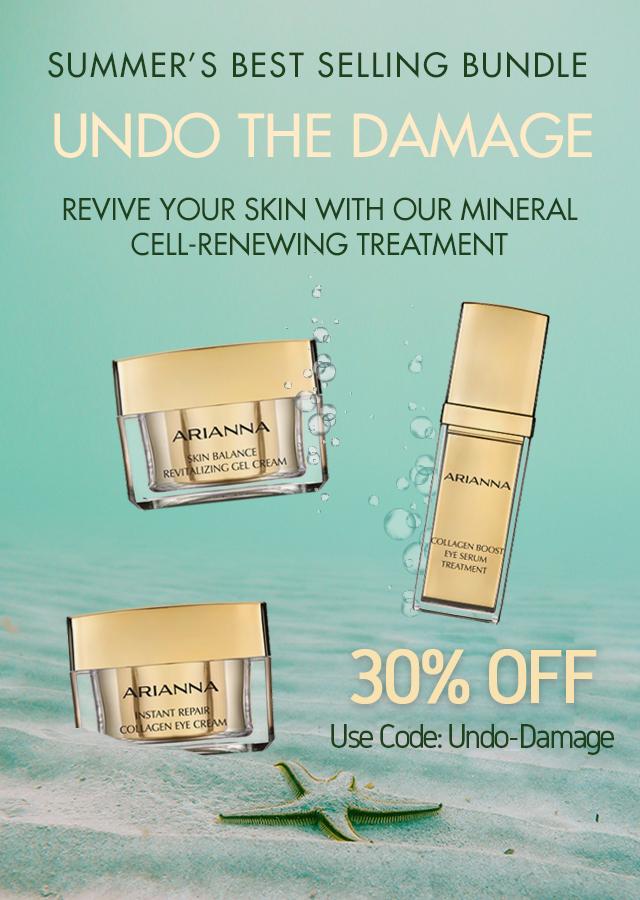 Dead Sea Cosmetics: Natural Anti-Aging Serums   Arianna Skincare