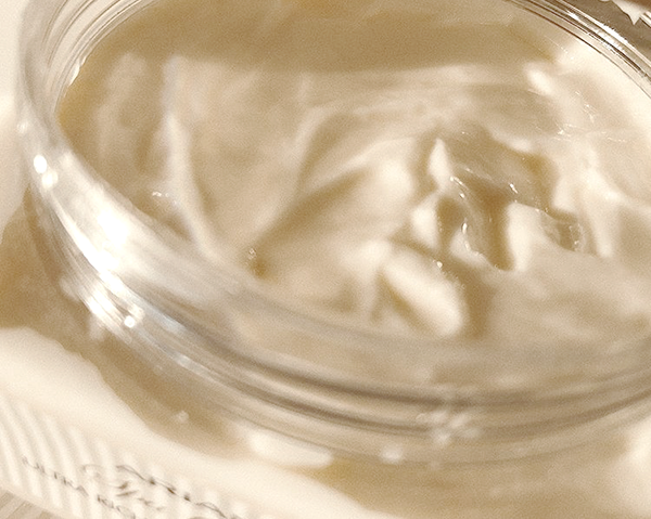 creamy texture of Ultra Rich Mineral Body Butter